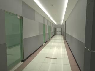 FyA Arquitectos Pang-industriya na corridors estilo, Pasilyo & Hagdan
