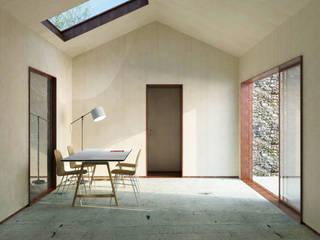 Projekty,  Domowe biuro i gabinet zaprojektowane przez Belle Ville Atelier d'Architecture