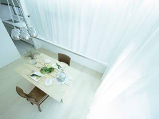 House for Installation - 清州の家 リノベーション ミニマルデザインの ダイニング の Jun Murata   JAM ミニマル