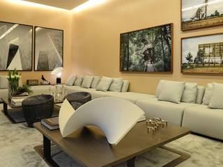 No conforto de sua sala por Artefacto Moderno