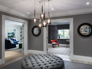 Winchester Pasillos, vestíbulos y escaleras modernos de Studio Hooton Moderno