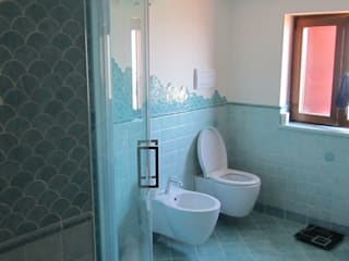 Bathrooms: Bagno in stile  di Cesario Art&Design, Mediterraneo