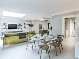 Kitchen/ Breakfast/ Family Room:  Kitchen by Studio Hooton