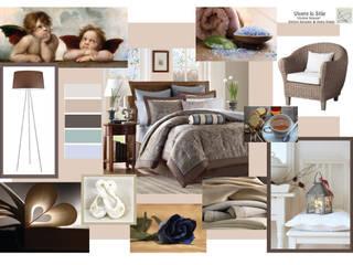 Vivere lo Stile Dormitorios de estilo moderno Beige