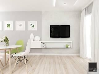 Frühling Wohnung FOORMA Minimalistische Wohnzimmer