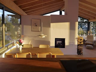 K2 Architekten GbR Scandinavian style dining room