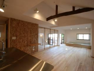 株式会社シオン Dinding & Lantai Modern Parket Wood effect