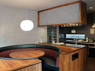 85inc. Modern Dining Room Wood Wood effect