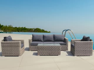 LuxuryGarden® Divani in rattan Andresa:  in stile  di LuxuryGarden.it