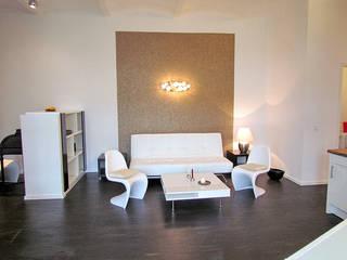 Loft Wohnzimmer:  Wohnzimmer von Interior Design M.C. Gollub