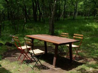 卓子: 家具木工 みずき工房が手掛けた折衷的なです。,オリジナル