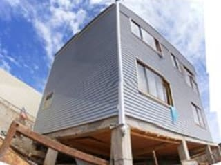 MARCELA CARRERAS - AUTO CONSTRUCCIÓN ASISITDA Casas estilo moderno: ideas, arquitectura e imágenes de M25 Moderno