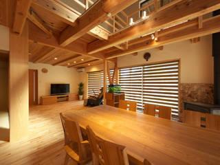 y邸: 空間工房 森田が手掛けたダイニングです。