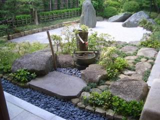施行事例 モダンな庭 の ㈲田村造園 モダン