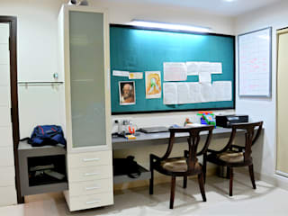 Dhiren Tharnani Modern Study Room and Home Office by IMAGE N SHAPE Modern