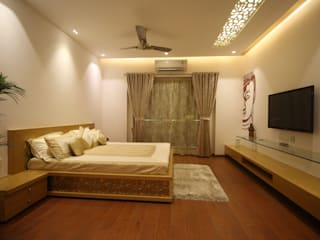 Samrath Paradise IMAGE N SHAPE Dormitorios de estilo moderno