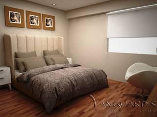 Diseño de Departamento San Borja: Dormitorios de estilo  por Vanguardist Design Studio ,