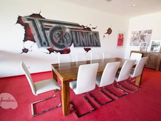 Estadios de estilo  por Graffiti und Wandmalerei | Frameless-studio UG, Ecléctico