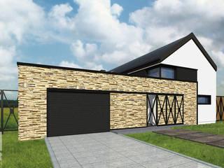 FAMILY BUILDING: styl , w kategorii  zaprojektowany przez Karolina Radoń Design