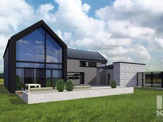 FAMILY HOUSE: styl , w kategorii  zaprojektowany przez Karolina Radoń Design