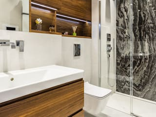 Modify- Architektura Wnętrz Modern bathroom