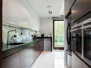 Modify- Architektura Wnętrz Modern kitchen