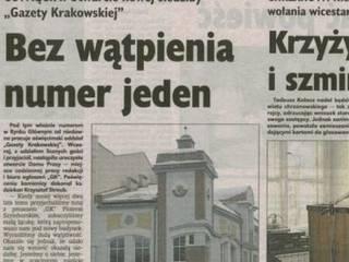 """""""Nieszczęsny Nr 1"""" w Rynku Głównym miasta Oświęcimia.: styl , w kategorii  zaprojektowany przez Architekt Marek Majewski"""
