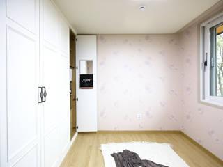 한글주택(주) Modern style bedroom