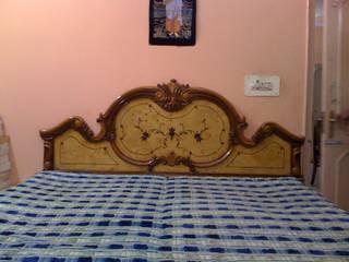 Bedroom: colonial  by renu soni interior design,Colonial