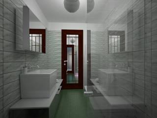 Bagno di servizio:  in stile  di Arch. Sorbo