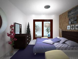 Camera da letto:  in stile  di Arch. Sorbo