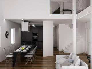 Dario Cipelletti Architect Ruang Keluarga Minimalis