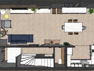 Salas / recibidores de estilo  por MEL design_, Escandinavo
