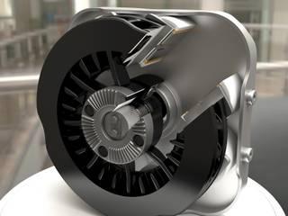 Sezione meccanica Retarder Fabio 3d