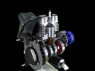 modellazione meccanica Fabio 3d