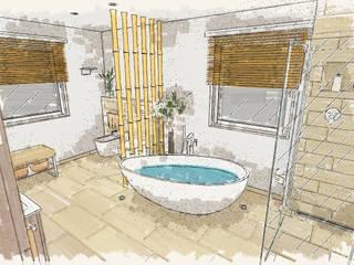 Wellness-Oase für zu Hause: moderne Badezimmer von Bad Campioni