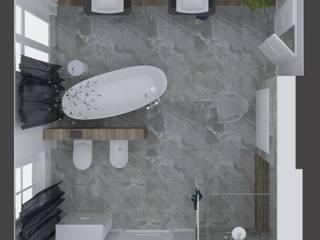 Projekt przykładowy Klasyczna łazienka od Aneta Adamowicz architektura wnętrz Klasyczny