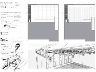 Ruang Makan oleh juan olea arquitecto, Rustic
