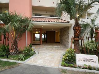 PROSPERDESIGN ARCHITECT OFFICE/プロスパーデザイン 熱帶式走廊,走廊和樓梯