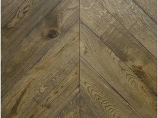 Chevron wood flooring:   by Tomson Floors Glasgow