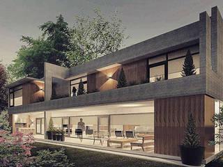 Casa A: Casas de estilo moderno por FAARQ - Facundo Arana Arquitecto & asoc.