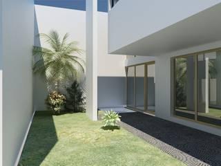 Jardines de estilo minimalista de JAPAZ arquitectura arte diseño Minimalista
