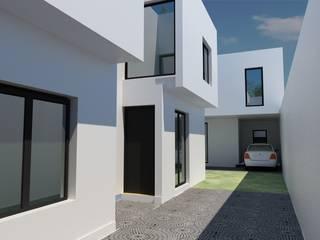 Minimalist house by JAPAZ arquitectura arte diseño Minimalist