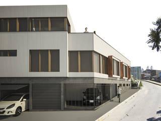 Casa Arrayán Casas estilo moderno: ideas, arquitectura e imágenes de Materia prima arquitectos Moderno