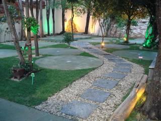Restaurante Multicolor Jardines de estilo rústico de AnnitaBunita.com Rústico