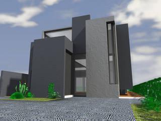 Casa : Casas de estilo  por JAPAZ arquitectura arte diseño