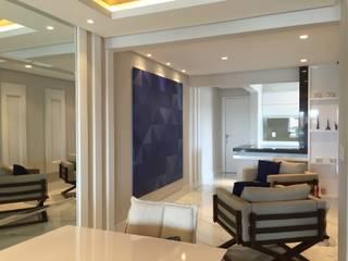 Apartamento A.T: Salas de estar  por Saviski Arquitetura