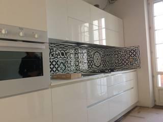 CEAR Ceramiche Azzaro & Romano Srl Cocinas de estilo minimalista Cerámico Verde