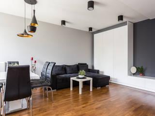 Kameleon - Kreatywne Studio Projektowania Wnętrz Modern Living Room
