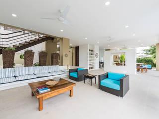 Phòng khách phong cách tối giản bởi David Macias Arquitectura & Urbanismo Tối giản